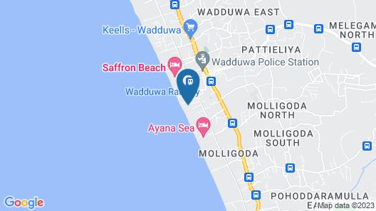 The Villa by Contemporary Ceylon Map