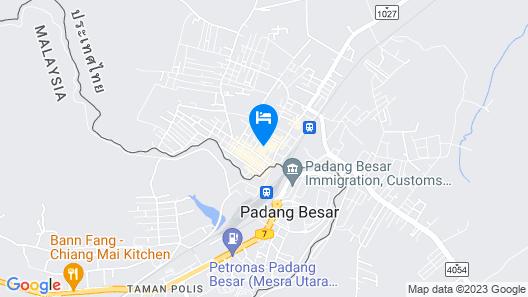 The Room Padangbesar Map