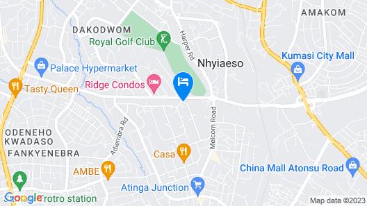 Mikaddo City Inn Map