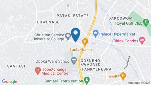 Feliama Hotel Map