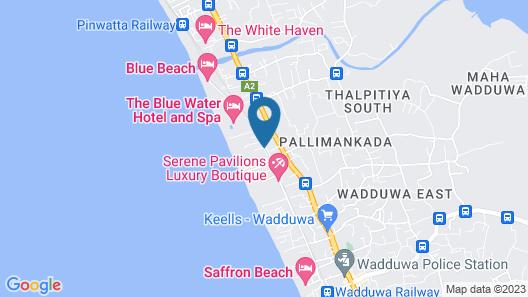 The Villas Wadduwa Map