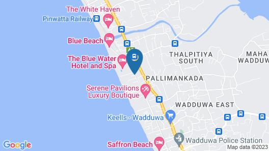Taprobana Wadduwa by Asia Leisure Map