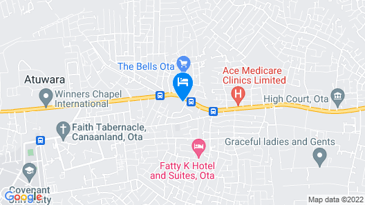 Grand Bank Link Hotel Map