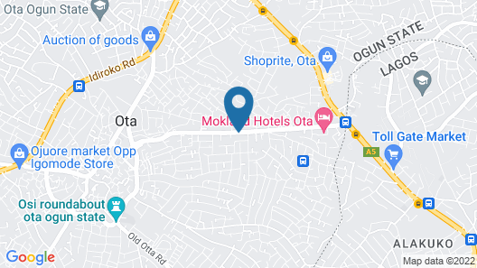 King Solomon Hotel and Suites Map