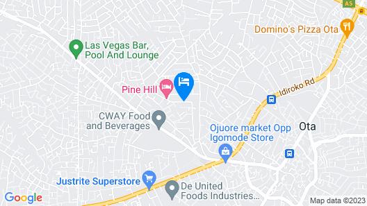 Oklarsus Hotel & Suites Map