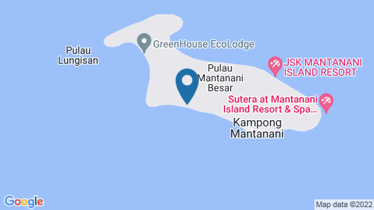 Sutera @ Mantanani Island Resort & SPA Map