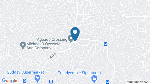Esado Suites and Conference Alagbado Map