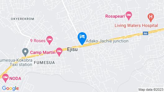 Franbec Hotel Kumasi Map