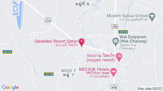 Sabaidee Resort Satun Map