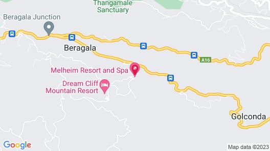 Melheim Haputale Map