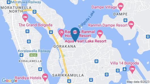 Yaraya Bolgoda Map