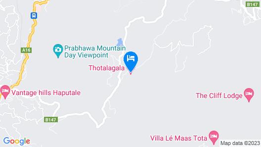 Thotalagala - All Inclusive Map