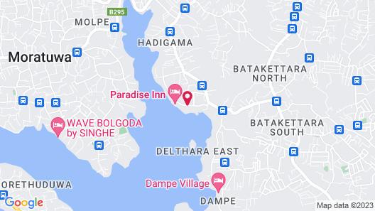 Thotupola Lakeside Resort Map
