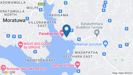 Thotupola Lakeside Resort Map