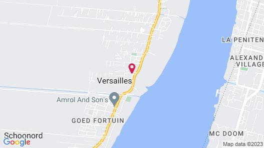 Aracari Hotel Guyana Map