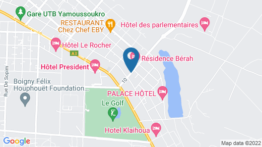 Residence Kojja Map