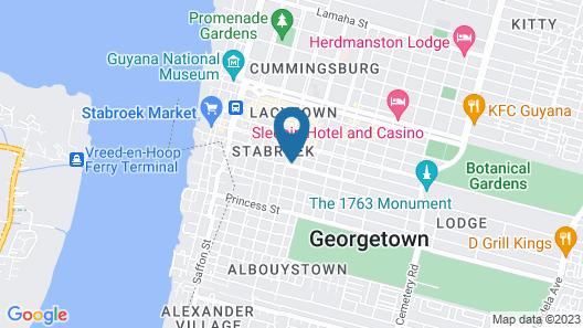 Millenium Manor Hotel Map