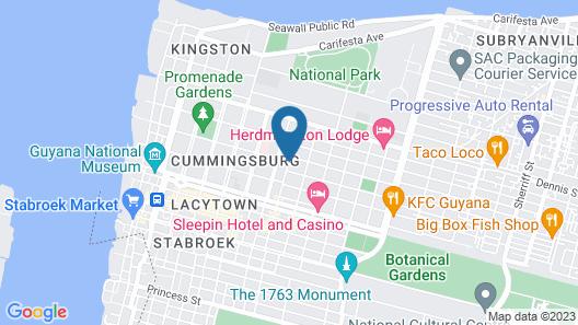 Julian Guest House Map