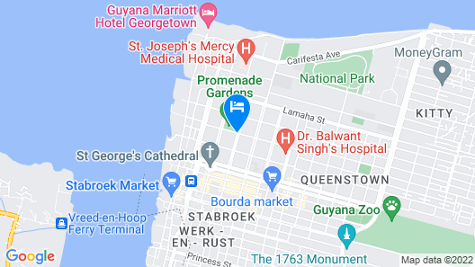 King's Hotel & Residences Map