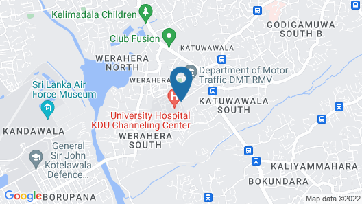 KDU Guest House Map
