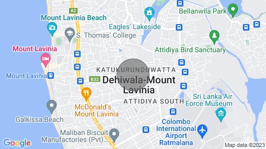 Aadyah Mount Pinnacle Suites 4BR Map