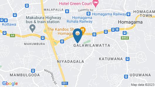 Ayansa Villa Map