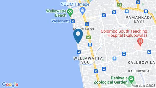 Raj Marine Residency Map
