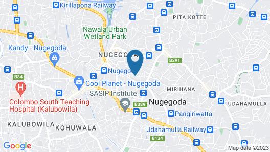 Luxury House in Colombo Sri Lanka Map
