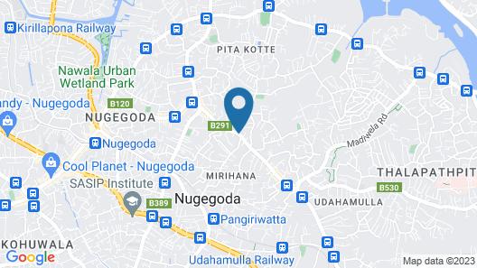 Amali Residence Map