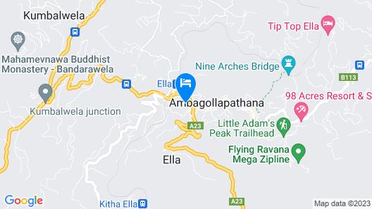 Hotel Alta Vista Map