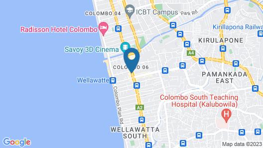 Supun Arcade Residency Map