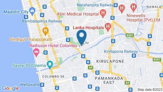 ME Colombo Map