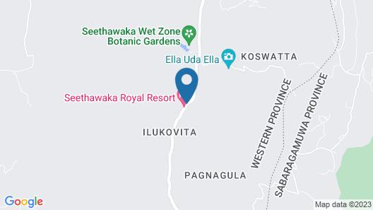 Seethawaka Royal Resort Map