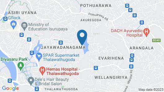 VILLA ATTIKKA Map