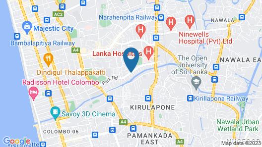 Crown Properties Map