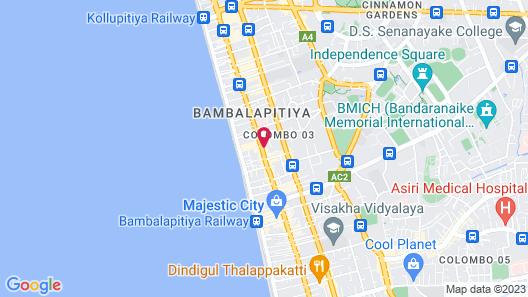 Mandarina Colombo Map