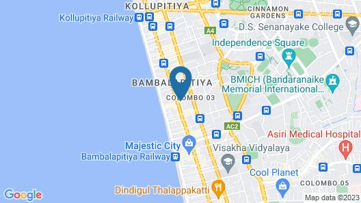 Platinum One Suites Map