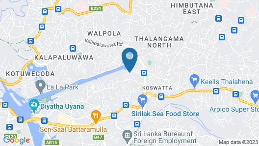 Hotel Mandakini Map