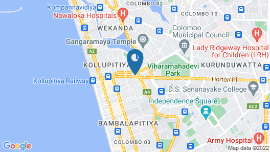 Cinnamon Red Colombo Map