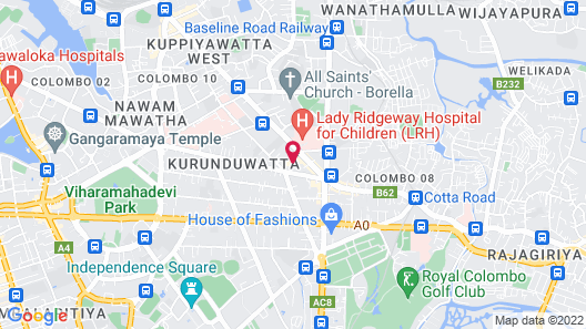 Rockwell Colombo Map