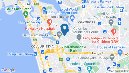 Residence by Uga Escapes Map
