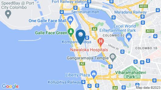 Ramada by Wyndham Colombo Map