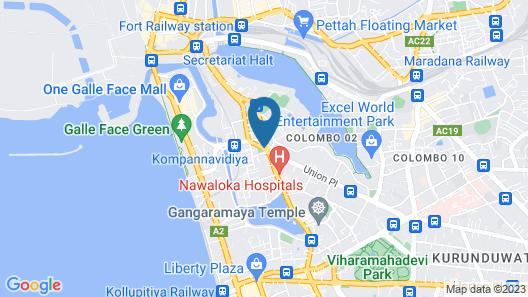 Metro City Hotel Map