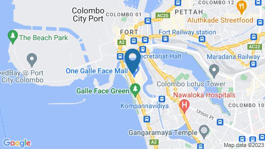 Shangri-La Colombo Map