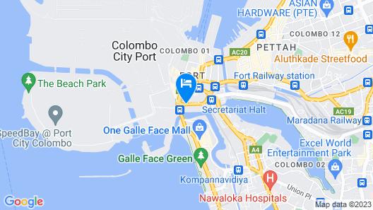 Galadari Hotel Map