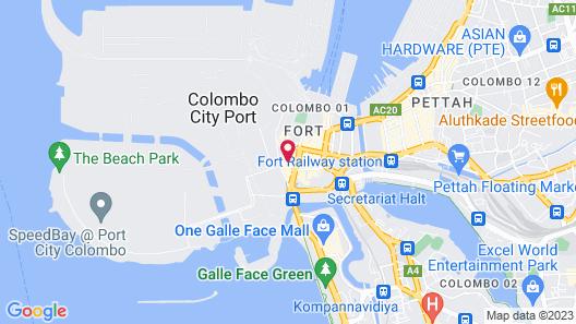 The Kingsbury Colombo Map