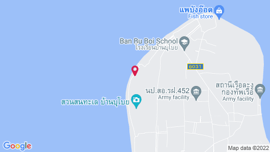 Ban Chomlay Resort Satun Map