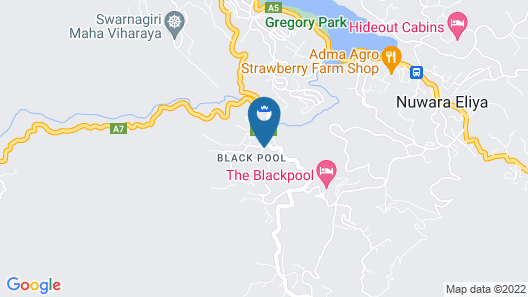 The Blackpool Hotel Map