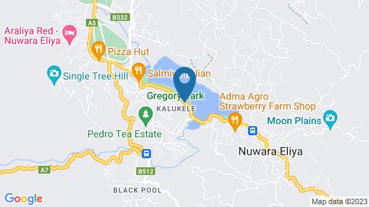 Go Outdoors Caravan Park Nuwara Eliya Map