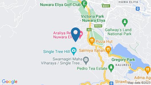 Tea Bush Hotel - Nuwara Eliya Map